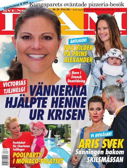 Svensk Damtidning August 18, 2016 00:00