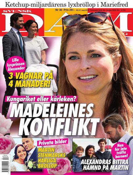 Svensk Damtidning August 25, 2016 00:00
