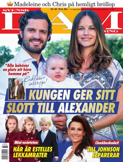 Svensk Damtidning September 01, 2016 00:00