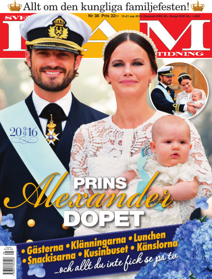Svensk Damtidning September 15, 2016 00:00
