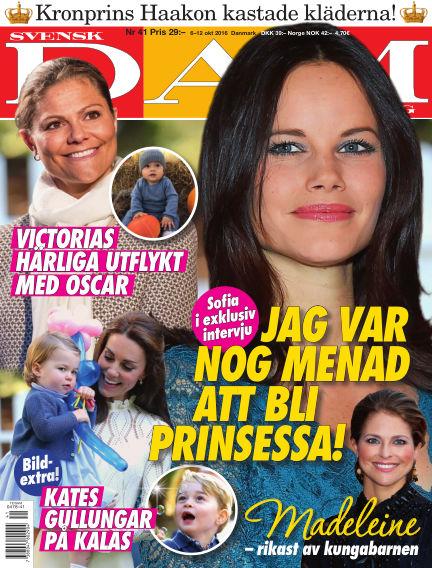 Svensk Damtidning October 06, 2016 00:00
