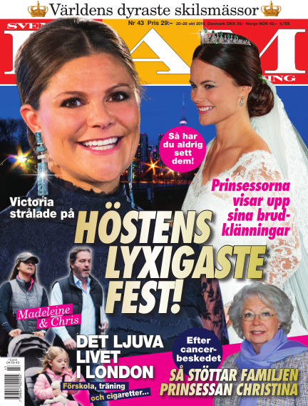 Svensk Damtidning October 20, 2016 00:00