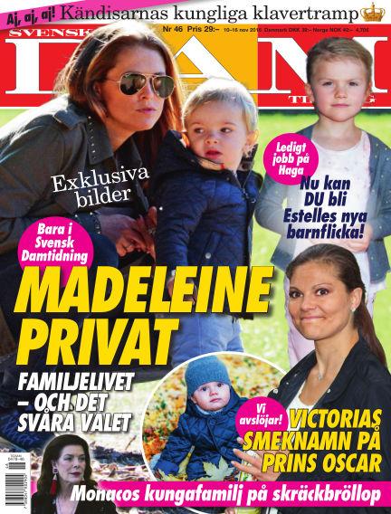 Svensk Damtidning November 10, 2016 00:00