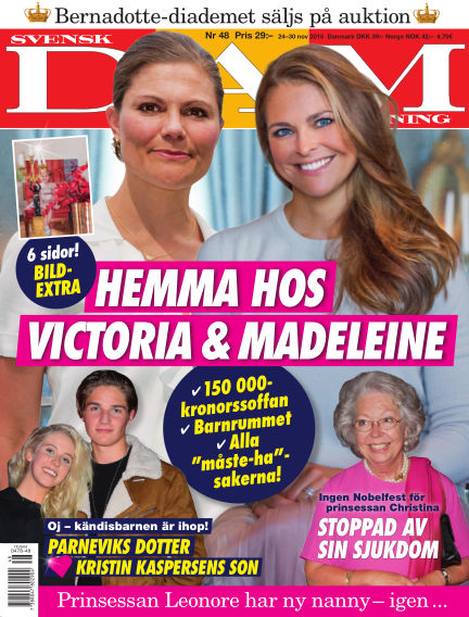 Svensk Damtidning November 24, 2016 00:00