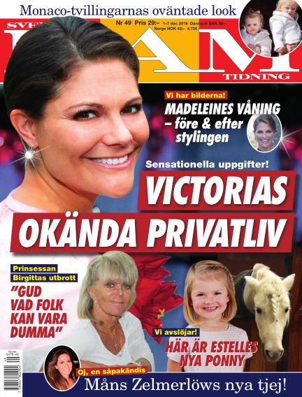 Svensk Damtidning December 01, 2016 00:00