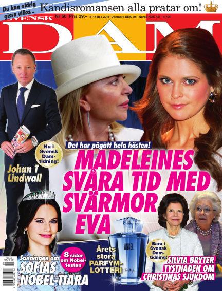Svensk Damtidning December 08, 2016 00:00