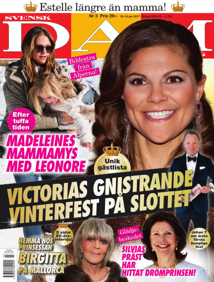 Svensk Damtidning January 12, 2017 00:00