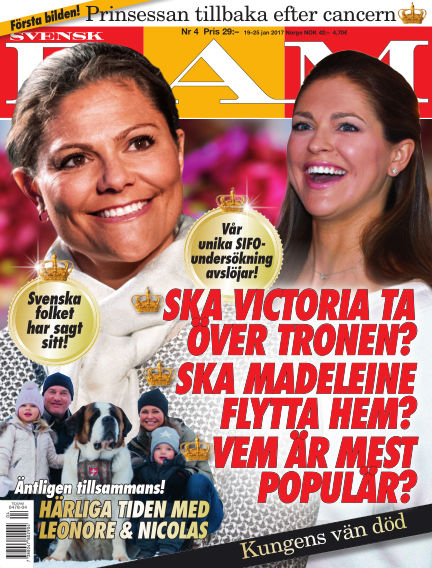 Svensk Damtidning January 19, 2017 00:00