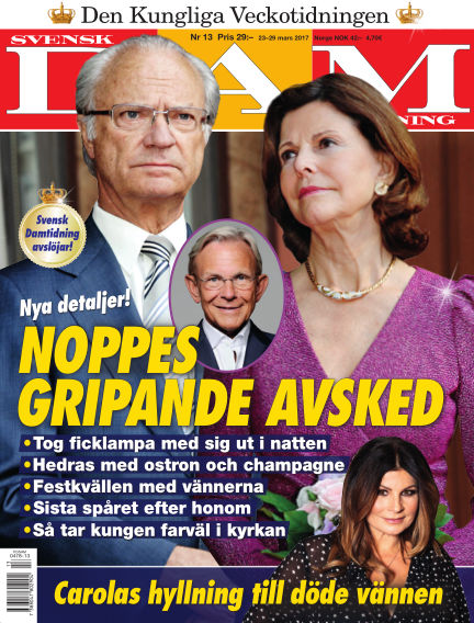 Svensk Damtidning March 23, 2017 00:00