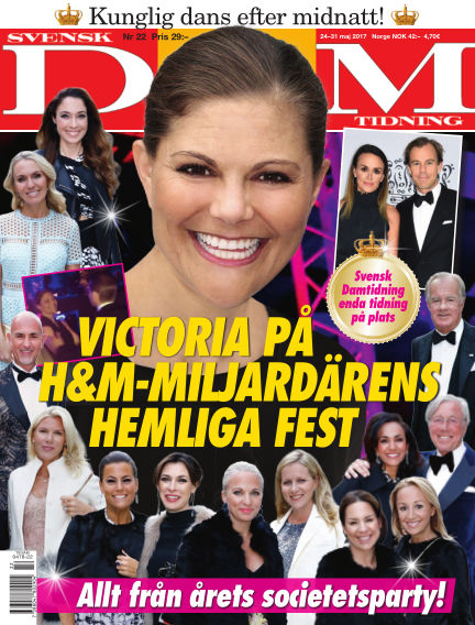 Svensk Damtidning May 24, 2017 00:00