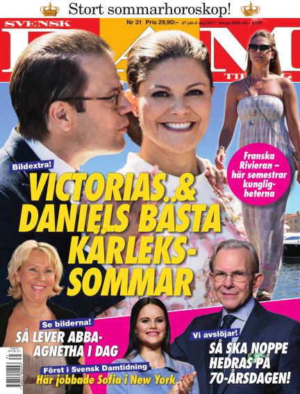 Svensk Damtidning July 27, 2017 00:00