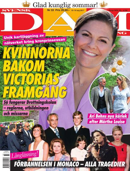 Svensk Damtidning August 10, 2017 00:00