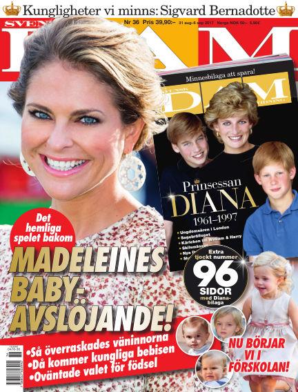 Svensk Damtidning August 31, 2017 00:00