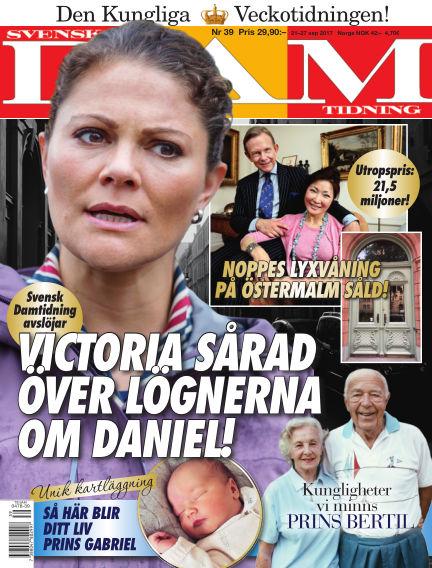 Svensk Damtidning September 21, 2017 00:00