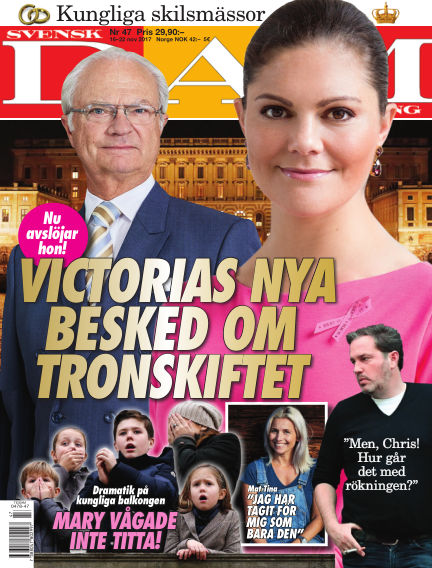 Svensk Damtidning November 16, 2017 00:00