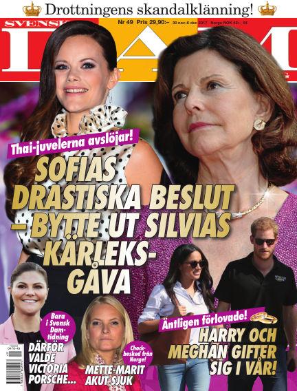 Svensk Damtidning November 30, 2017 00:00