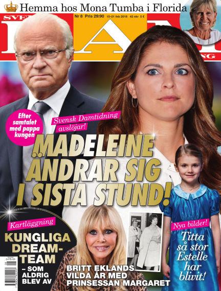 Svensk Damtidning February 15, 2018 00:00
