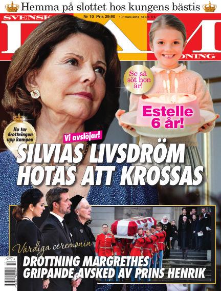Svensk Damtidning March 01, 2018 00:00