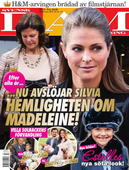 Svensk Damtidning March 22, 2018 00:00
