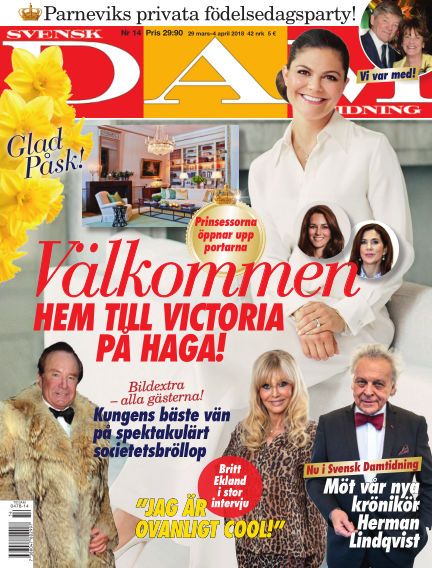 Svensk Damtidning March 29, 2018 00:00