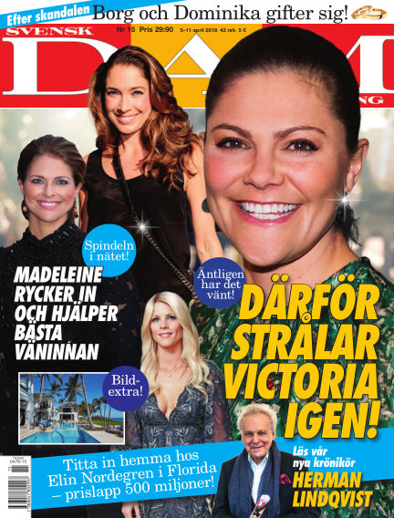 Svensk Damtidning April 05, 2018 00:00