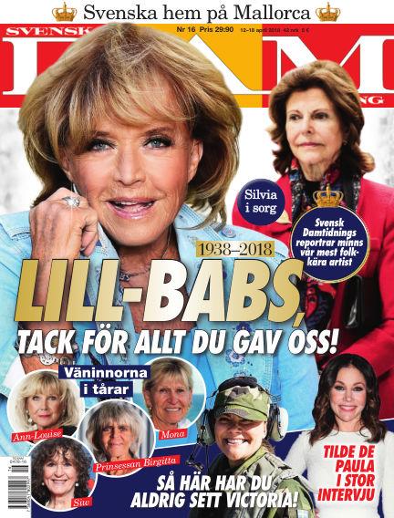 Svensk Damtidning April 12, 2018 00:00