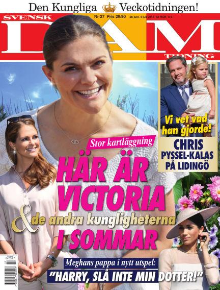 Svensk Damtidning June 28, 2018 00:00