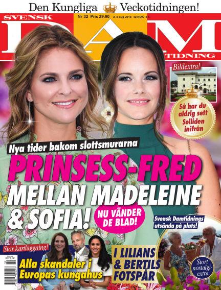 Svensk Damtidning August 02, 2018 00:00