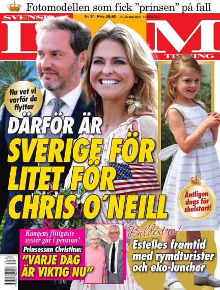 Svensk Damtidning August 16, 2018 00:00