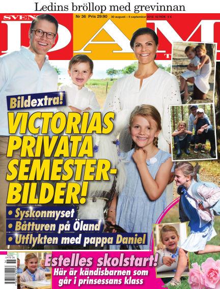 Svensk Damtidning August 30, 2018 00:00
