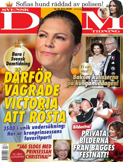 Svensk Damtidning September 13, 2018 00:00