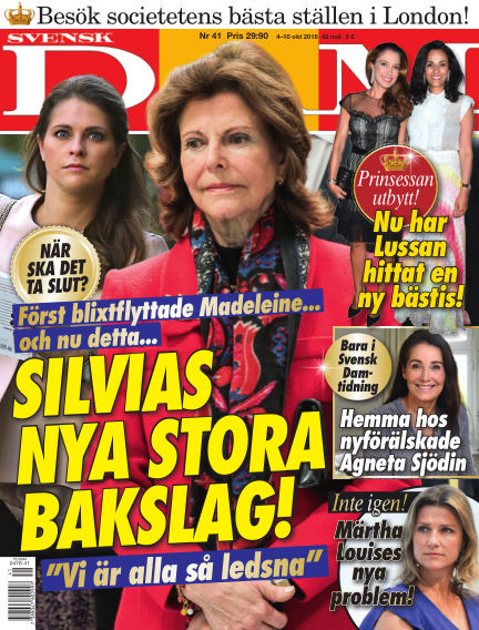 Svensk Damtidning October 04, 2018 00:00