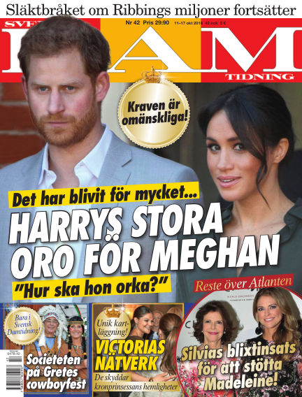 Svensk Damtidning October 11, 2018 00:00