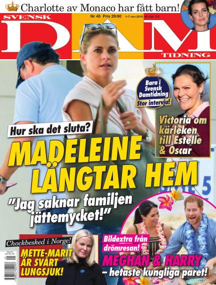 Svensk Damtidning November 01, 2018 00:00