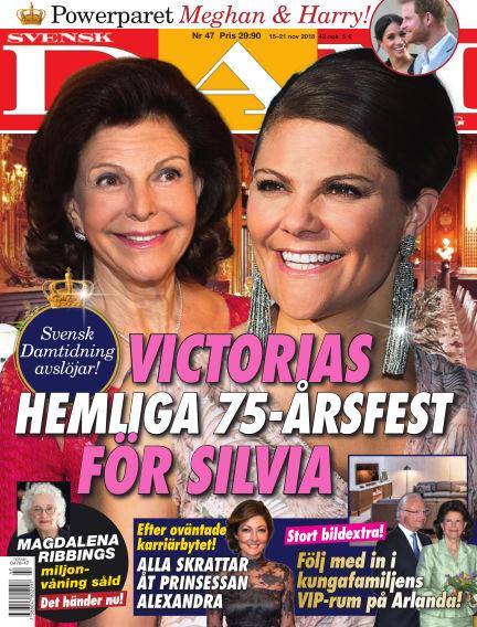 Svensk Damtidning November 15, 2018 00:00