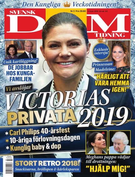 Svensk Damtidning January 03, 2019 00:00