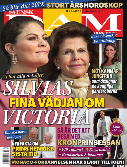 Svensk Damtidning January 10, 2019 00:00