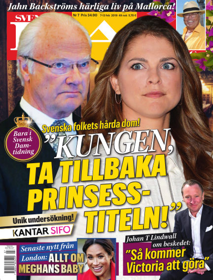 Svensk Damtidning February 07, 2019 00:00