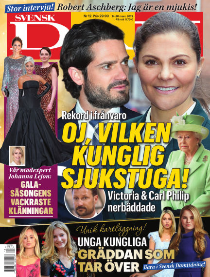Svensk Damtidning March 14, 2019 00:00
