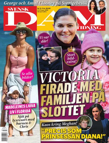 Svensk Damtidning March 21, 2019 00:00