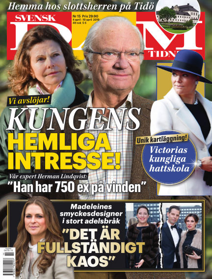 Svensk Damtidning April 04, 2019 00:00