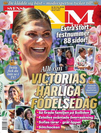 Svensk Damtidning July 18, 2019 00:00