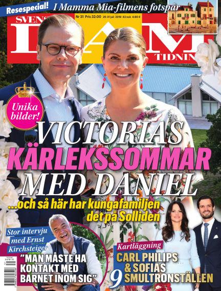 Svensk Damtidning July 25, 2019 00:00