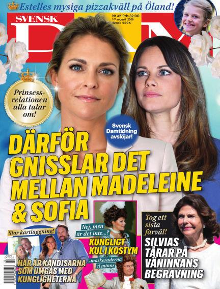 Svensk Damtidning August 01, 2019 00:00