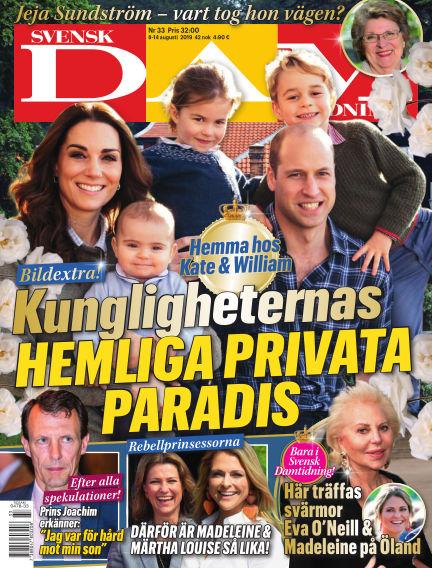Svensk Damtidning August 08, 2019 00:00