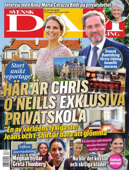 Svensk Damtidning August 15, 2019 00:00