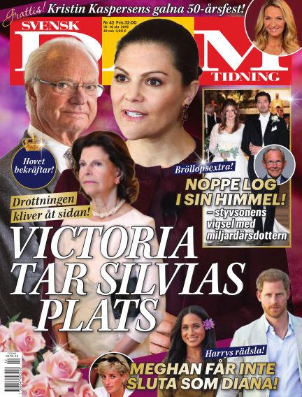 Svensk Damtidning October 10, 2019 00:00