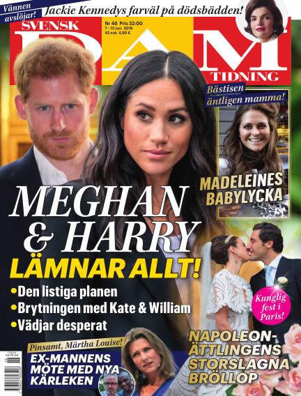 Svensk Damtidning November 07, 2019 00:00