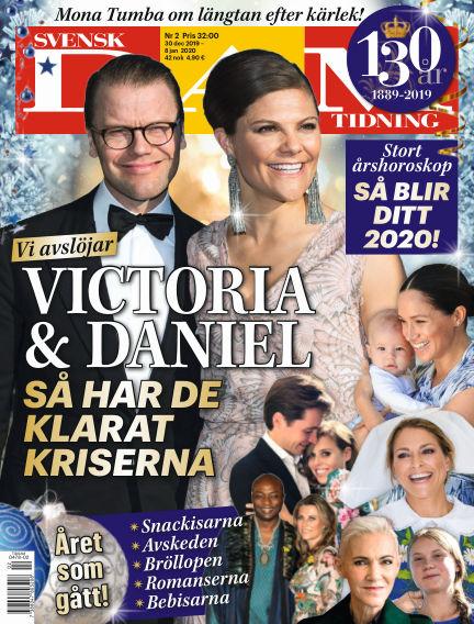 Svensk Damtidning December 30, 2019 00:00