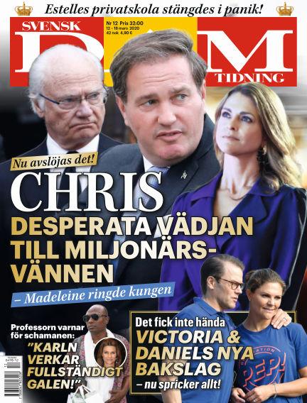 Svensk Damtidning March 12, 2020 00:00